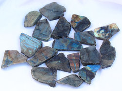 Labradorite Polished One-Face Specimen (POF) 2.5kg Bag