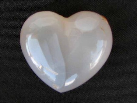 Agate Small Jewellery Heart 5pcs