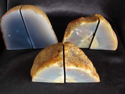 Agate Bookends 1-3kg - 100 pairs