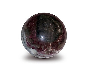 Ruby Tourmaline Spheres 45mm