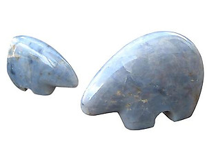 Blue Quartz Bears
