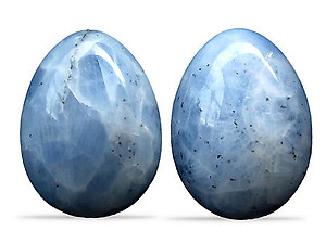 Wholesale - Blue Calcite Eggs (25-40mm), #1 Quality