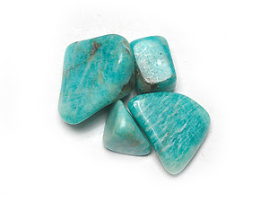 18-25 mm Amazonite Tumbled Stones