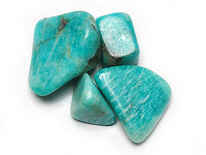 20-30 mm Amazonite Tumbled Stones