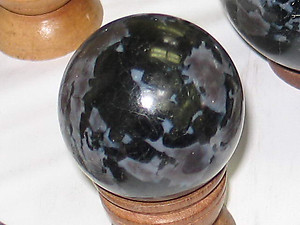 Indigo Gabbro Sphere 40-50 mm (1.5