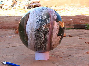 Sea Jasper Large Sphere 26.60Kg