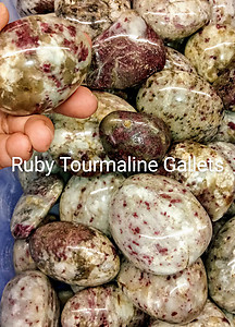 Ruby Tourmaline Gallets