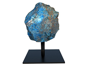 Apatite Rough on Base - Small