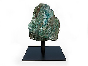 Chrysocolla Rough on Base - Small