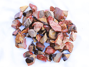 Desert Jasper Rough - Gem Decor Rough (5-30g) 5Kg Bag (11LBS and UP)