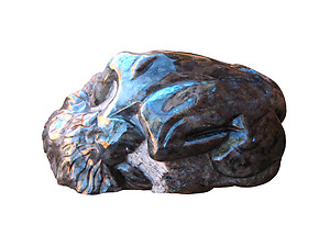 Labradorite Lady Lying Down