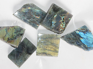 Labradorite Polished One Face Specimen - 1 lb