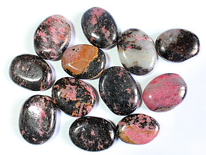 Rhodonite Oval Shapes