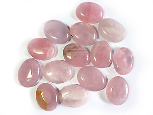 Rose Quartz Oval Shapes