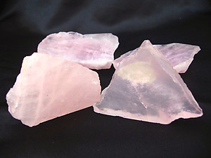 Rose Quartz Polished One Face 1lb